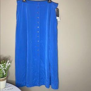 NYGARD collection silk skirt